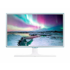 Samsung Monitor 24 Wireless Charging Blanco Ls24e370dl/zp
