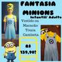 Fantasia Minions Meu Malvado Favorito!!! Adulto E Infantil!!