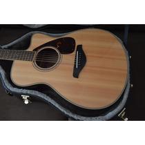 Violão Yamaha Fsx720sc Com Case N Taylor Takamine