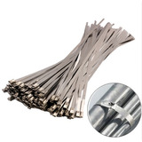 Abraçadeira P/ Termotape Em Aço Inox 30cm Zip Tie