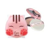 Cats Wink Polvo Maquillaje Coreano
