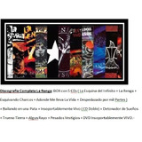 La Renga - Discografia Completa - Box + 6 Cds + 1 Dvd..-
