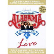 Alabama - 41 Number One Hits - Dvd - Novo