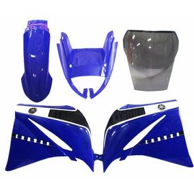 Kit Carenagem Xt660 Azul 2010 2011 2012 2013 2014 C/ Bolha