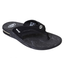 Chinelo Masculino Reef Mick Fanning Prints Black Tribal