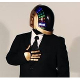 Casco Daft Punk Guy Manuel (para Armar En Papercraft)