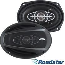 Alto Falante 6x9 Roadstar Quadriaxial Rs6912br 120 Rms Cada