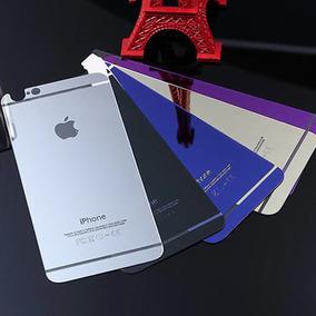 Mica De Cristal Templado Espejo Iphone 6 6s Frontal Trasera