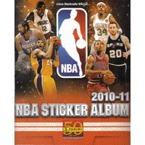 Álbum Figurinhas Nba 2010/2011 - Completo - Ótimo Estado