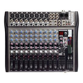 Consolas Mixer 12 Canales Sound Xtreme Sxm512 16 Efectos Cjf