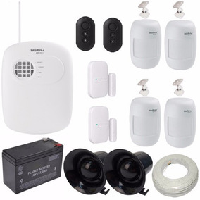 Kit Alarme Monitorado Intelbras Central 8 Zonas Amt 2008rf
