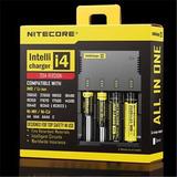 Carregador Baterias 18650 Nitecore I4 - Intellicharger I4