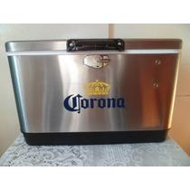 Hielera Corona Extra Metalica