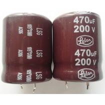 Capacitor Electrolitico 470 - 200v 105ª