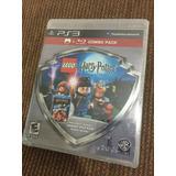 Harry Potter Año1-4 Lego Ps3 +peli Blu-ray Piedra Filosofal