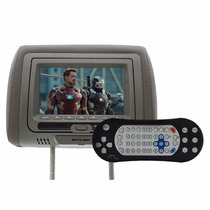 Tela De Dvd 7 Polegadas Encosto De Cabeça Au707 Multilaser
