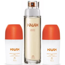 Kaiak Tradicional Feminino 100ml + 2 Rolon Kaiak Tradicional