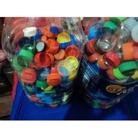 Tapitas Plasticas Lote Por 1000 Gaseosa Agua Etc Usadas
