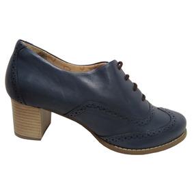 Sapato Oxford Via Paula 12200 Tamanho Grande