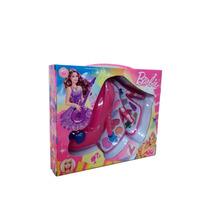 Maquiagem Barbie Em Formato De Sapato Infantil