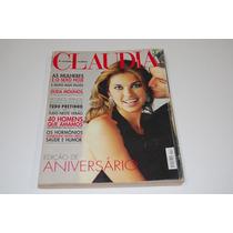Revista Cláudia Outubro 2001 - Edição De Aniversário 40 Anos