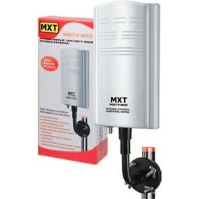 Antena Amplificada Hdtv Uhf Digital Interna Externa 20db Mxt