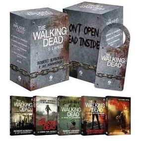 Box The Walking Dead (5 Livros) + Brinde Frete Gratis