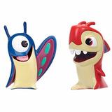 Slugterra Pack X2 - Mini Figuras - Originales Importadas