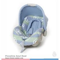 Capa Ou Estofamento Bebe Conforto Piccolina Galzerano Azul R