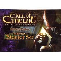 Call Of Cthulhu Juego De Cartas Tcg Set Premium Eldritch