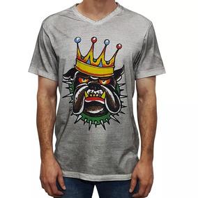 Camiseta Tshirt Ed Hardy Masculina Christian Audigier Grey