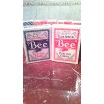 Se Vende Juego De Cartas De Casino Original Bee