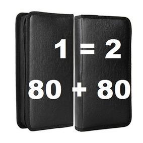 Porta Cd Dvd Bluey Filmes Capacidade 80 Cds Compre 1 Leve 2