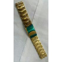 Pulseira Swatch Dourada 22mm