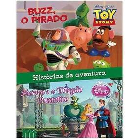 Livro Histórias De Aventura Disney-pixar