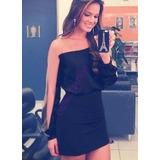 Vestido Bruna Marquezine Com Tule Ilusion