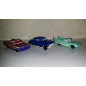Lote De 3 Autos De Cars Disney Mcdonalds Y 4 Hot Wheels.