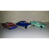 Lote De 3 Autos De Cars Disney Mcdonalds Y 4 Hot Wheels.