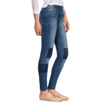 Pantalon Denim Legging Fit Patch Desiderata Oficial
