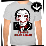 Camiseta Ou Baby Look Jogos Mortais Filme Terror Personagem