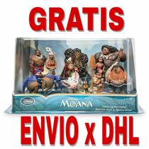 Envío Gratis Disney Moana Paquete 10pcs Figuras 10cm Store