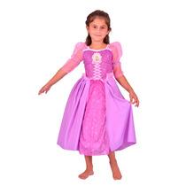 Disfraz Niña Princesa Rapunzel Disney Talle 2