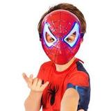 Fantasia Infantil Masculino Homem Aranha Com Luz Original