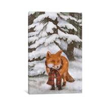 Winter Fox By Terry Fan, 26x18x.75