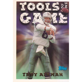 1994 Topps Tools Of The Game Troy Aikman Qb Cowboys