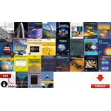 Colección + 1000 Libros De Matemáticas, Física, Química, Ing