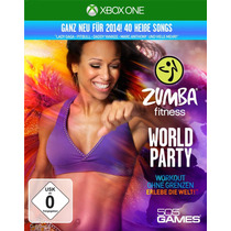 Zumba Fitness World Party Mídia Física Lacrado Xbox One