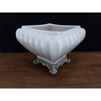 Vaso Decorativo Em Cerâmica Esmaltada 14 Cm