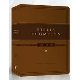Bíblia De Estudo Thompson Letra Grande 17 X 24 Grande Luxo