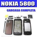 Carcaza Nokia 5800 Xpress Music Negro Con Lapiz Botones